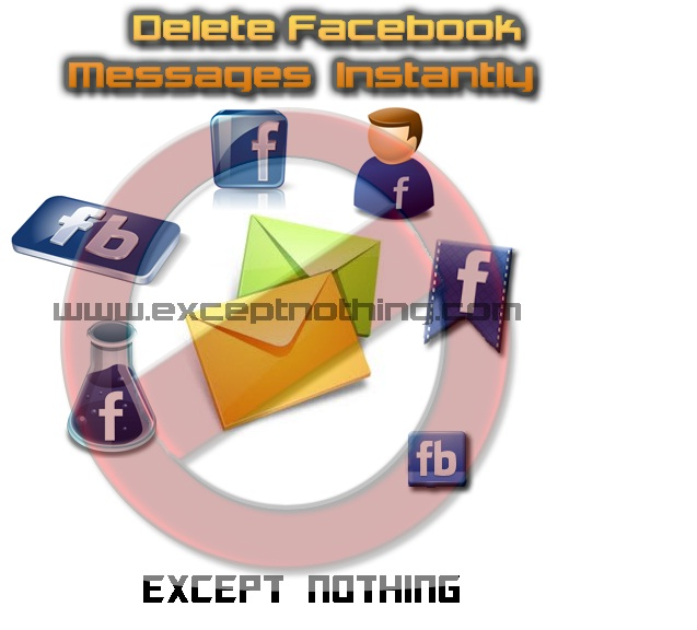 Delete Facebook Messages Instantly