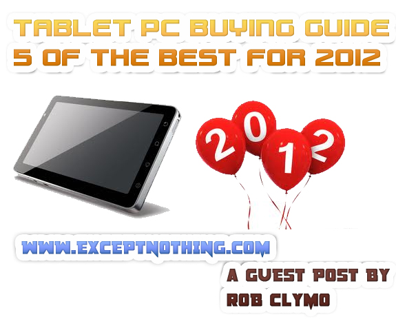 5 Best Tablets of 2012