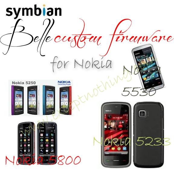 Symbian Belle Custom firmware