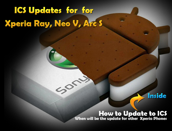 ICS Updates for Xperia