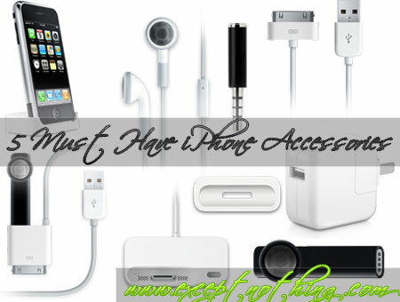 5 Must Have iPhone Accessories