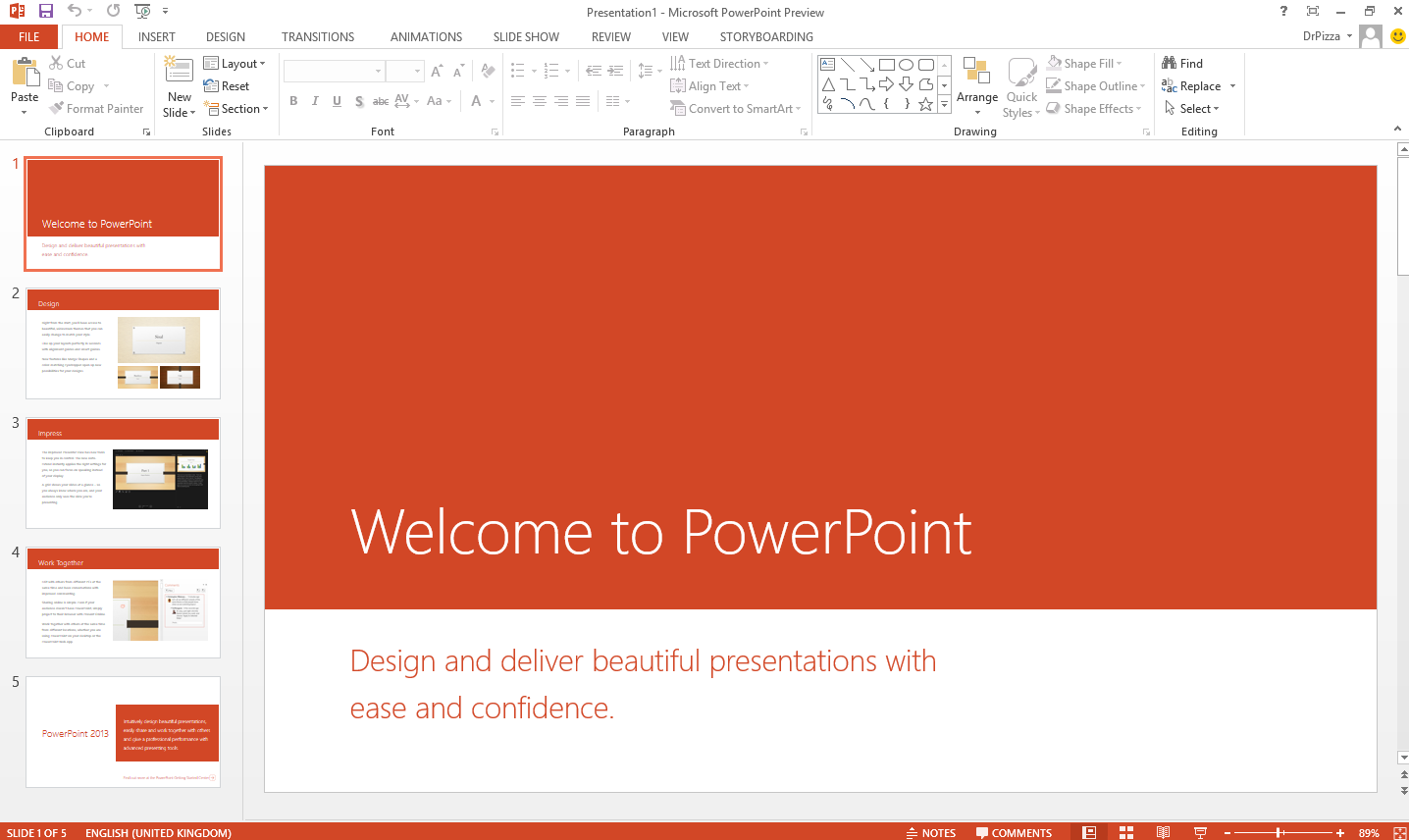 What's new in PowerPoint 2013
