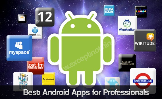 Best Android apps for professionals