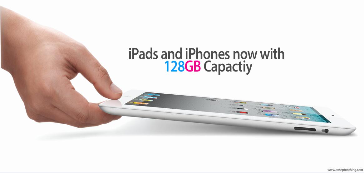 iPad iPhones 128GB