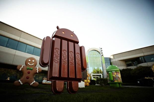 Android Kit Kat mascot