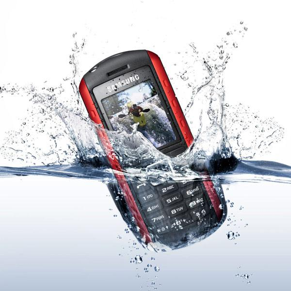 Drowning Samsung Phone