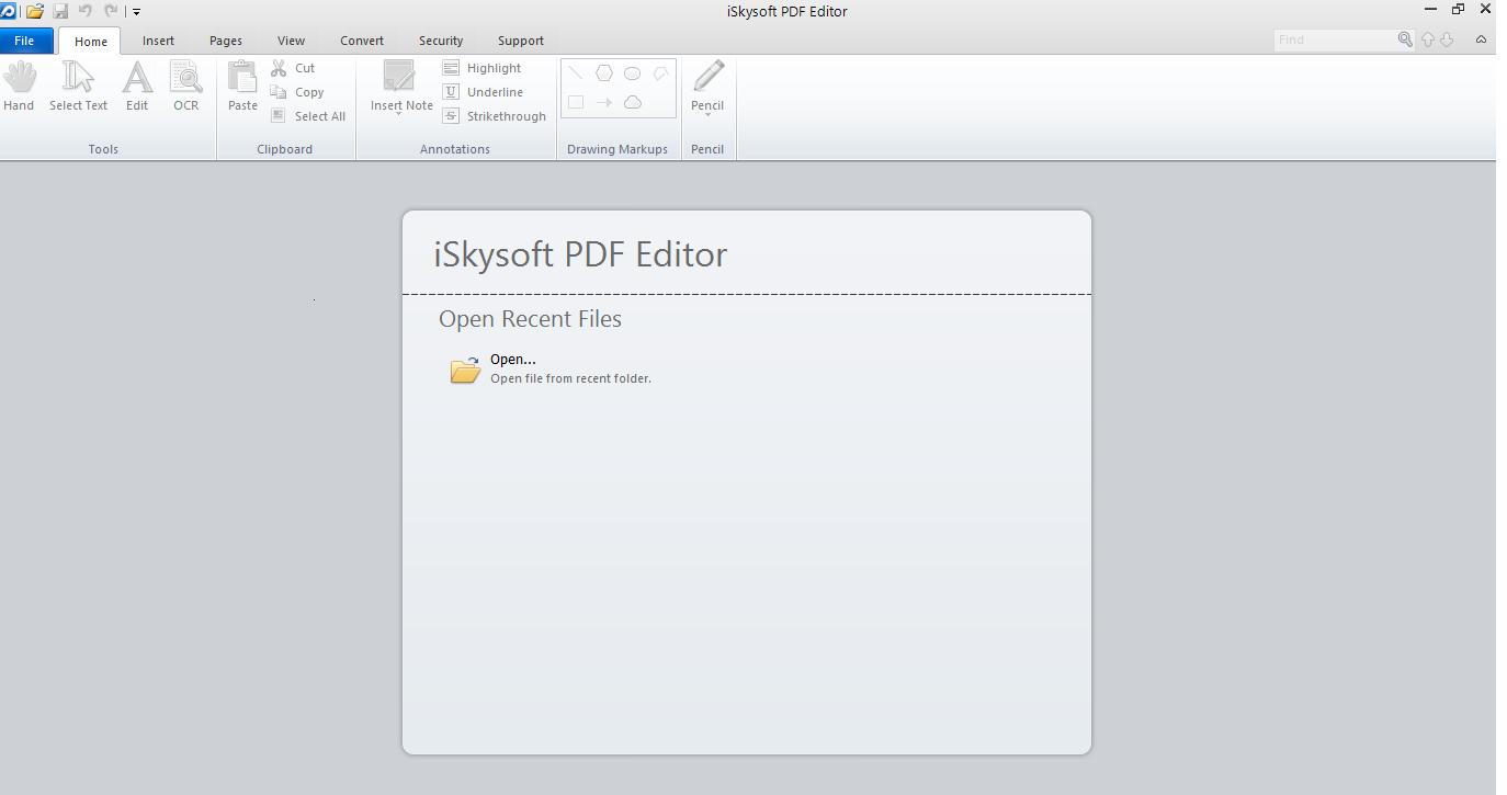 iSkySoft PDF Dashboard