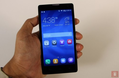 Huawei Honor 3C Hands-on Image