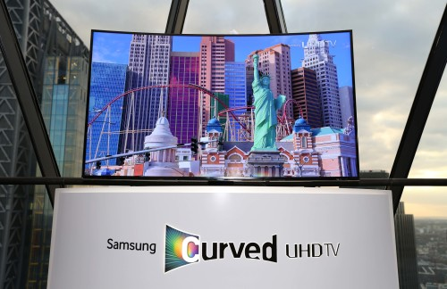 Samsung Curved Television