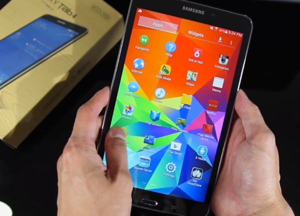 Samsung Galaxy Tab 4 Hands-on