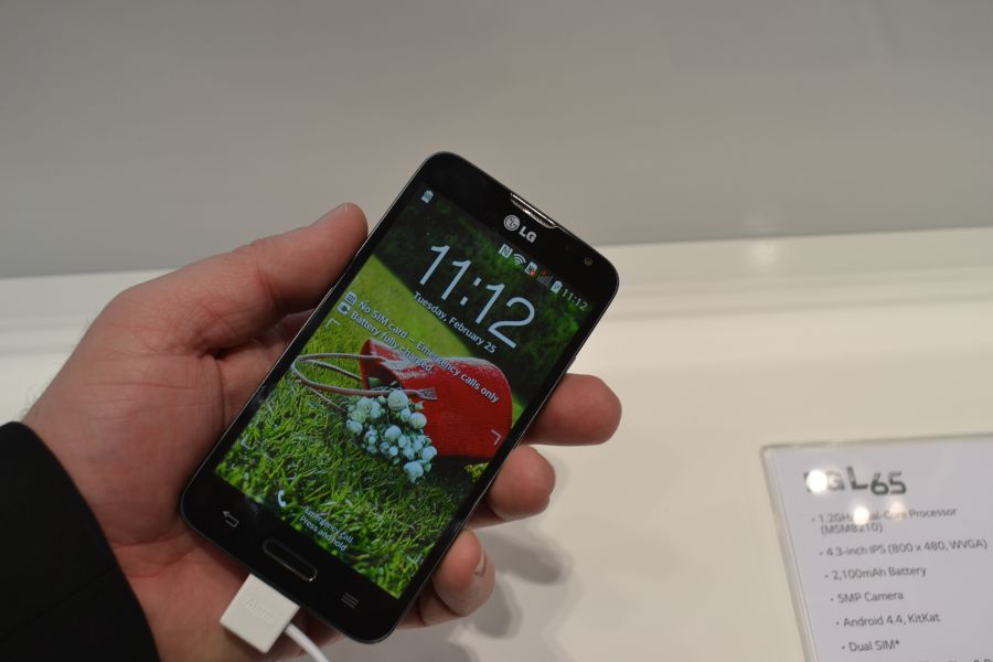 LG L65 Hands-on