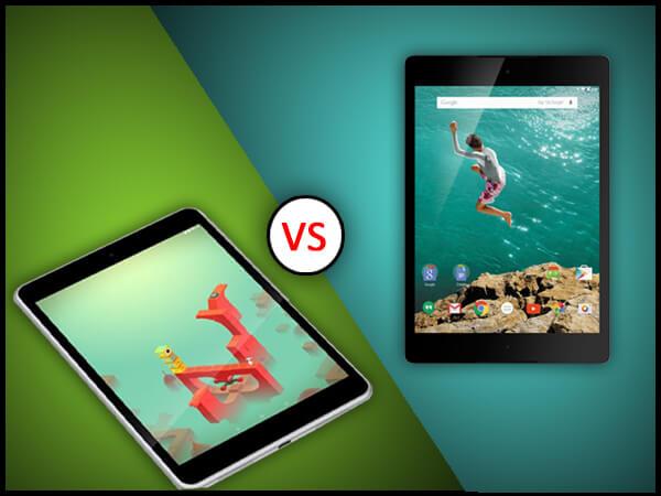 Nokia N1 vs Nexus 9