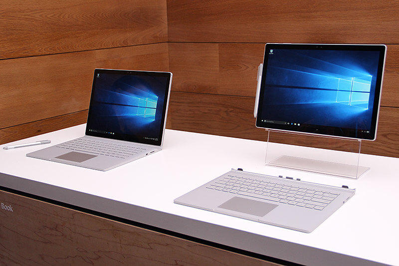 whereas the surface pro is slightly smaller device with 123 inch pixel sense display with a resolution of 27361824 at 267ppi with an aspect ratio 32